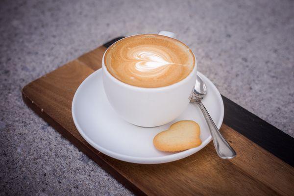 Kaffee trinken auf der Kashütte